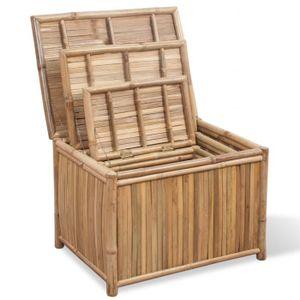 Boite de rangement en bambou - Achat / Vente Boite de rangement en ...