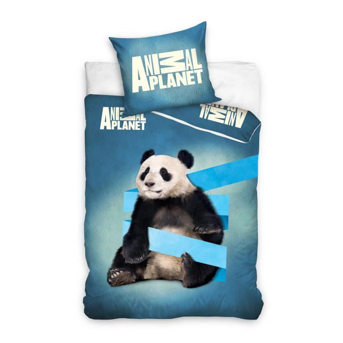 Housse de couette panda en coton achat vente housse de - Housse de couette en soldes ...