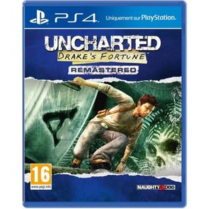 JEU PS4 Uncharted: Drake's Fortune Remastered Jeu PS4