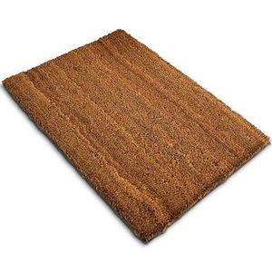 MOQUETTE - FIBRE Tapis brosse en fibre de coco, paillasson d'entrée