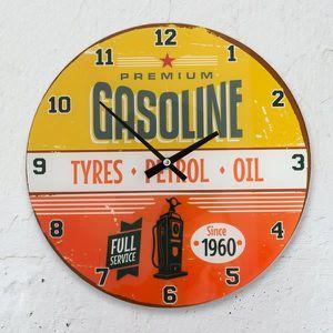 HORLOGE Horloge Murale Gasoline