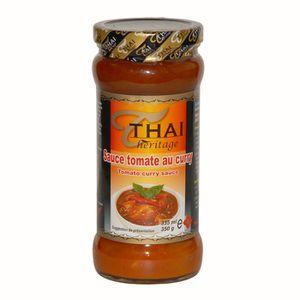 SAUCE CHAUDE Sauce tomate au curry