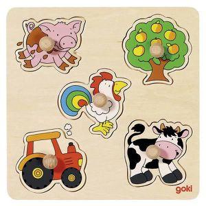 PUZZLE Puzzle encastrement la ferme