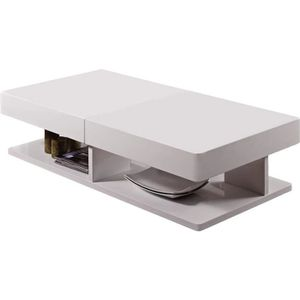 TABLE BASSE TABLE BASSE EXTENSIBLE RECTANGULAIRE DALIA - 120 X