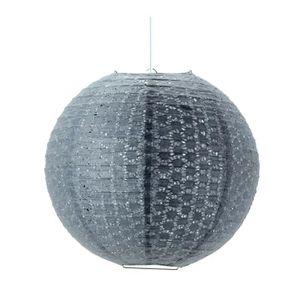 luminaire boule papier achat vente luminaire boule papier pas cher cdiscount. Black Bedroom Furniture Sets. Home Design Ideas