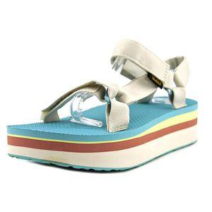 SANDALE - NU-PIEDS Teva Flatform Universal Retro Femmes Toile Sandale