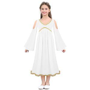 DÉGUISEMENT - PANOPLIE YIZYIF Déguisements Fille Enfant Robe déesse grecq