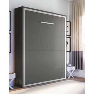 lit escamotable armoire lit escamotable 2 places joy 160 x 200 pie - Lit Escamotable But