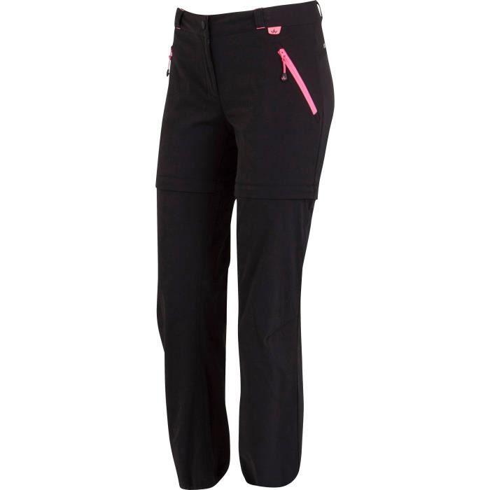 WANABEE Pantalon fille - Carbone