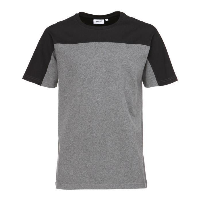 WESC T-shirt Kordell - Homme - Gris