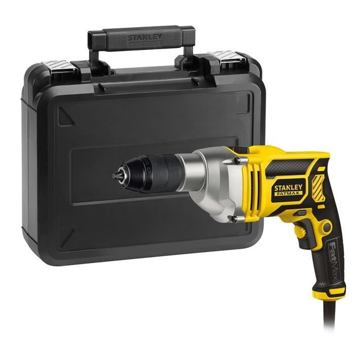 STANLEY Perceuse à percussion Fatmax - 750 W - Vitesse variable