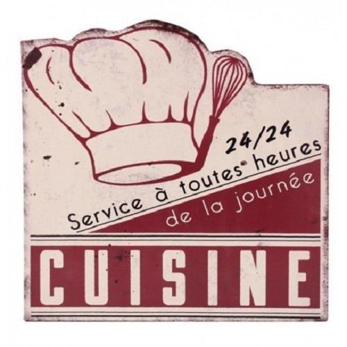 Plaque deco vintage cuisine en acier 29 x 33 achat vente plaque de porte cdiscount - Plaque deco cuisine ...