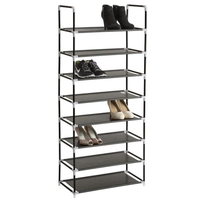 etag re meuble organisateur range chaussure rangement pratique 24 paires 2008116 achat vente. Black Bedroom Furniture Sets. Home Design Ideas