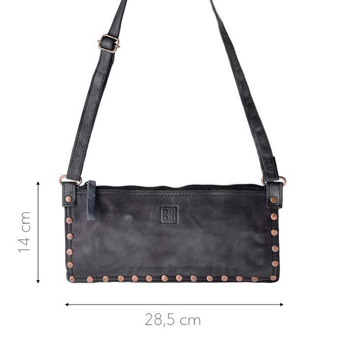 Dudu - Sac porté épaule - TImeless - Mini Bag - Noir Slate - Femme