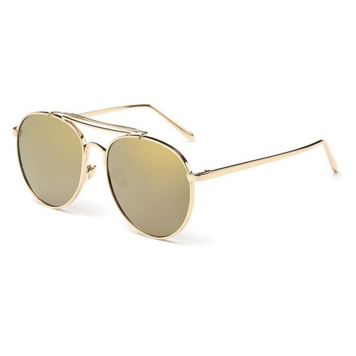 Nouveau mode frame Métal Lunettes de soleil rétro unisexe lunettes NO.2