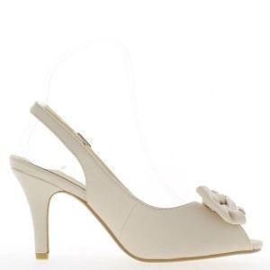 Sandales beiges à talon de 9cm e… mkI4IxMv2