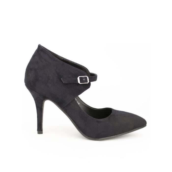 escarpin, Escarpins Noir Chaussures Femme