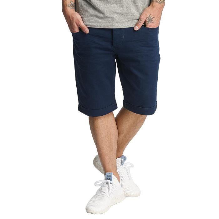 Achat amp; Short Denim Homme Shorts Bleu Twill ID Bleu Pantalons qXazZxZt