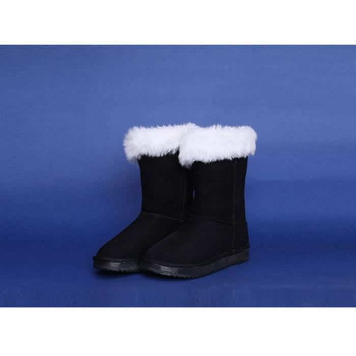 Filles LED Chaussures Bottes de Neige pour Enfant Chaud Hiver Adult Lumineux Chaussures Bottes d'hiver
