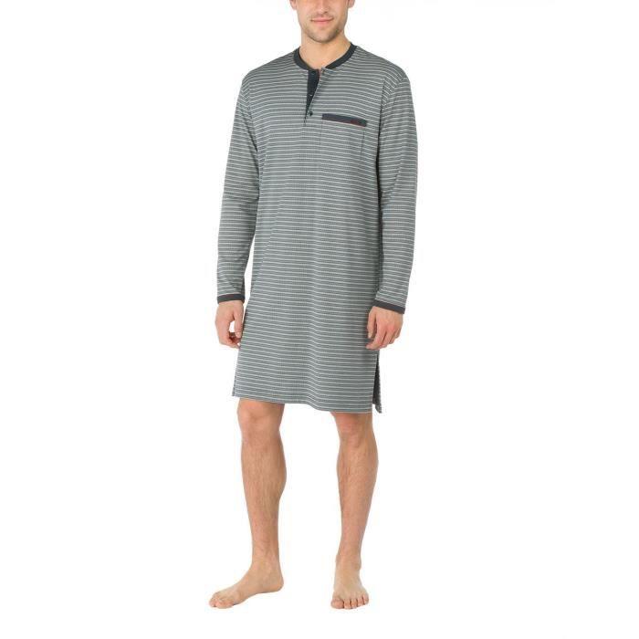 vraiment à l'aise Nouvelle renommée mondiale Calida Harlem chemise de nuit Pyjama Top 1T1H7Q Taille-S ...
