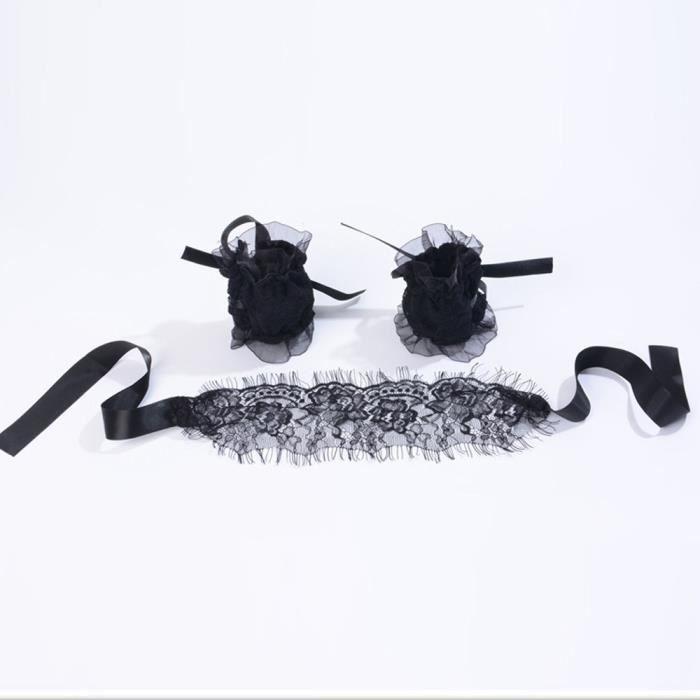 Avec Eau Des Pour En Masturbateur Trois Bracelets Masque Les Dentelle Ensembles Menottes 578 Yeux wxn7xYBqW