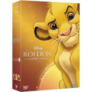 DVD DESSIN ANIMÉ DVD Coffret trilogie le roi lion