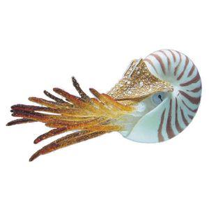 NOBBY Aqua Deco Nautilus flottant 10cm pour aquarium