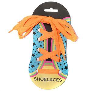 LACET  Shoelaces Homme Femme Enfant Lacets Orange U