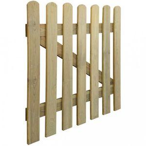 Portillon jardin bois - Achat / Vente pas cher -