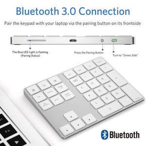 PAVÉ NUMÉRIQUE Pavé Numérique sans Fil Bluetooth Rechargeable 34