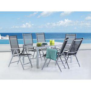 Table de jardin aluminium 160 - Achat / Vente Table de jardin ...