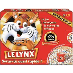 JEU SOCIÉTÉ - PLATEAU EDUCA Le Lynx 300 Nouvelle édition