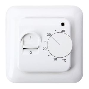 THERMOSTAT D'AMBIANCE Thermostat d'Ambiance Manuel 16A avec LED MST-1 Ut