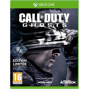 JEU XBOX ONE CALL OF DUTY GHOSTS EDITION LIMITEE INCLUS FREE FA