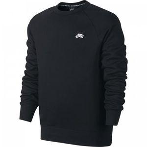 Nike SB - Icon Sweat-Shirt - 800153 Noir - Achat   Vente sweatshirt ... 33b06043a655