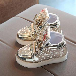 BASKET BOTTE Baskets bébé Fashion Sneakers Star lumineux