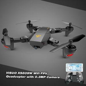 DRONE VISUO XS809W Drone RC Wifi FPV 0.3MP Caméra pliabl
