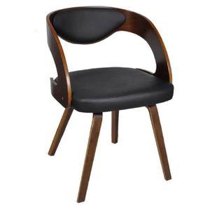Chaise avec accoudoir pour salle a manger achat vente pas cher - Chaise salle a manger avec accoudoir ...