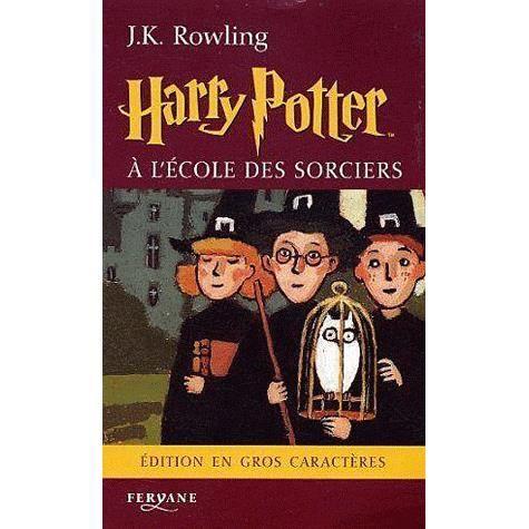 LIVRES ADOLESCENTS Harry Potter à l'école des sorciers