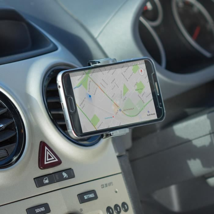 SWIPE Support Smartphone pour voiture - Rotation 360°