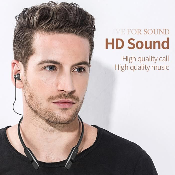 Casque Sans Fil Bluetooth Sport Écouteurs Avec Micro Neckband @lm4761