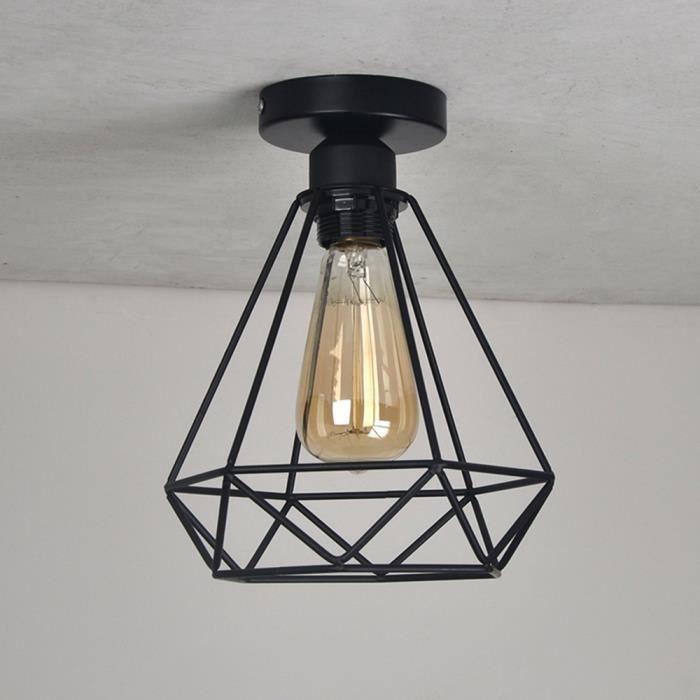 Plafonnier rétro vintage 20cm lampe de plafond plafonnier lus