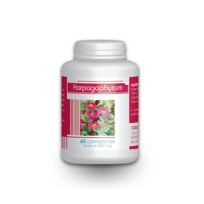 COMPLÉMENT ARTICULATION 60 comprimés d'Harpagophytum dosés à 400 mg.