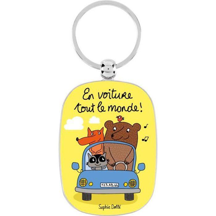 porte cls original en voiture tout le monde porte clefs de maison famille ide cadeau pour femme homme nol dlp derrire la porte