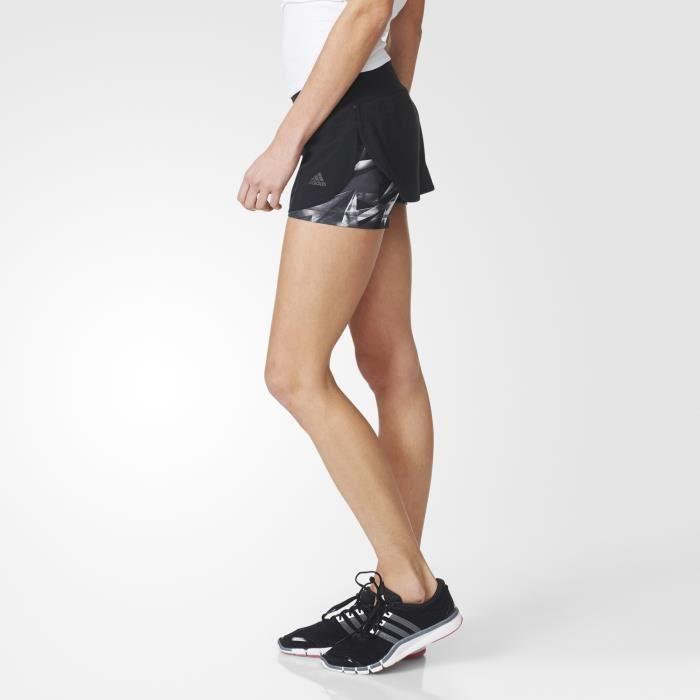Jupe-short de sport femme adidas 2 en 1 - Prix pas cher - Cdiscount 267d04ecdae