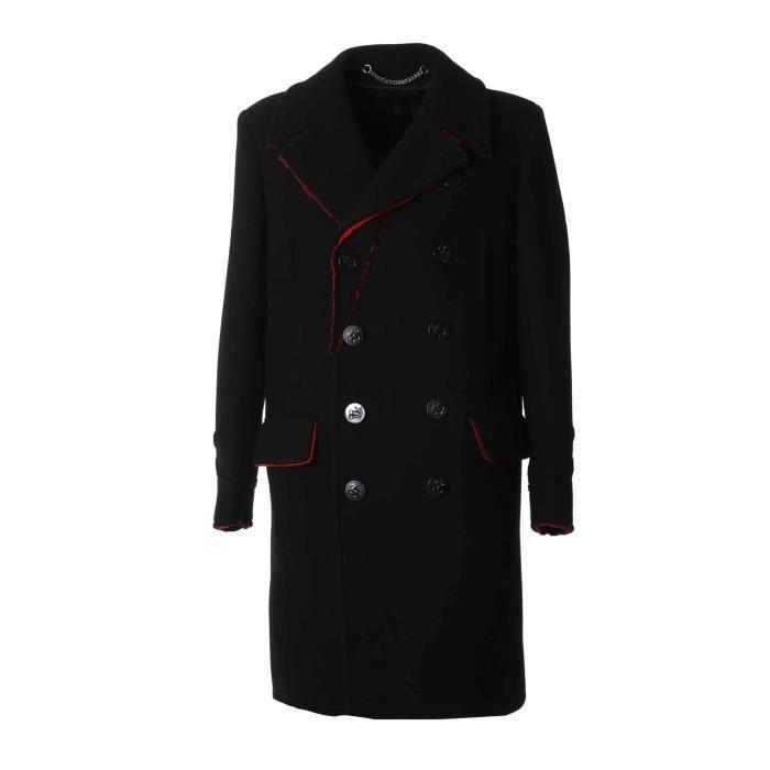 Homme 17f0204011009 Manteau Givenchy Achat Noir Laine fFdnq1w