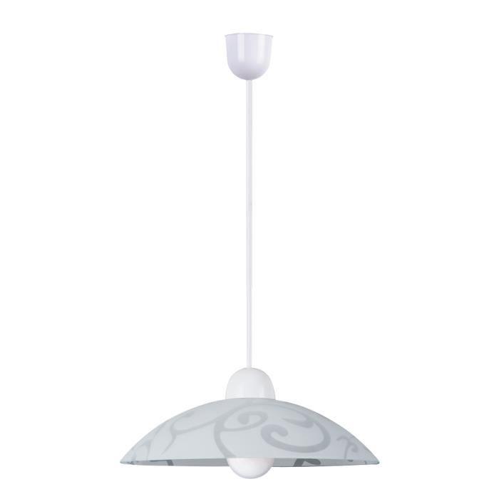 Rabalux Scroll Lampes MatièrePlastique Ref1846 Appliques Et • PlafonniersSuspensions CouleurBlanc Transparent tdshQr