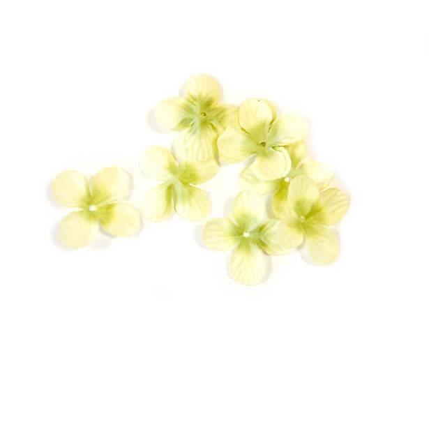 Décors de table Pétale de fleur vert menthe (x24) REF/DEC800