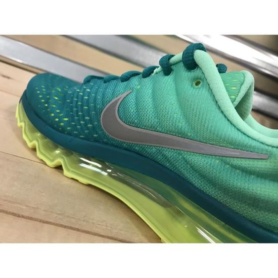 Nike Wmns Air Max 2017 Turquoise Rio 849560_302 Chaussures