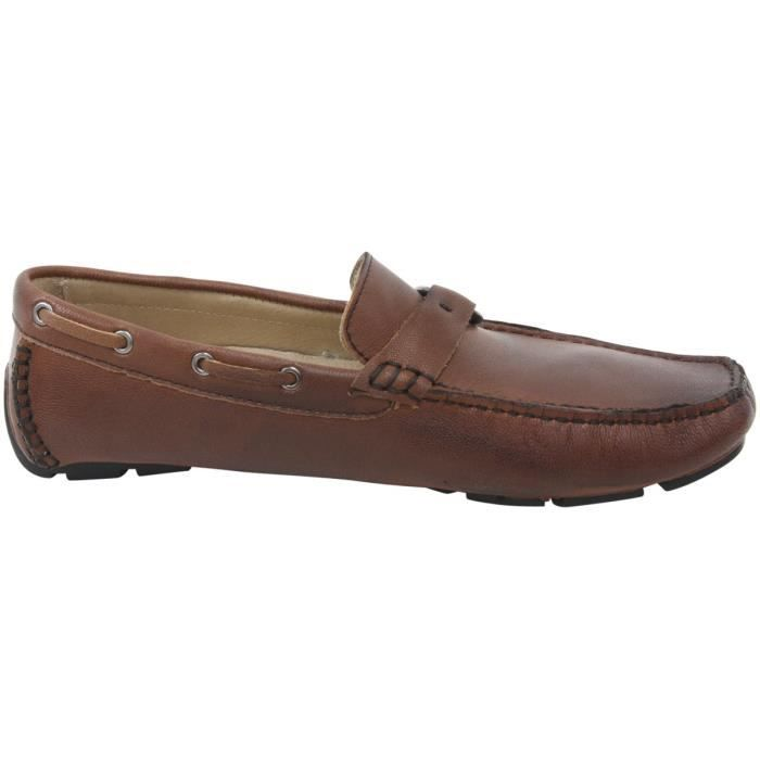 Palm Beach Tan Slip-on Driver Loafers Shoes SQJWK